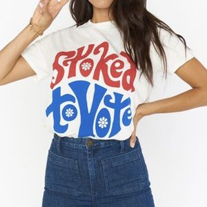 Show Me Your MuMu Stoked To Vote Graphic Tee